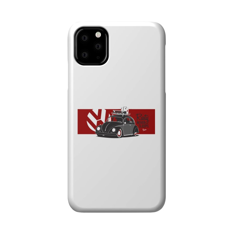 Rusty Never Sleeps Accessories Phone Case by Andrea Pacini