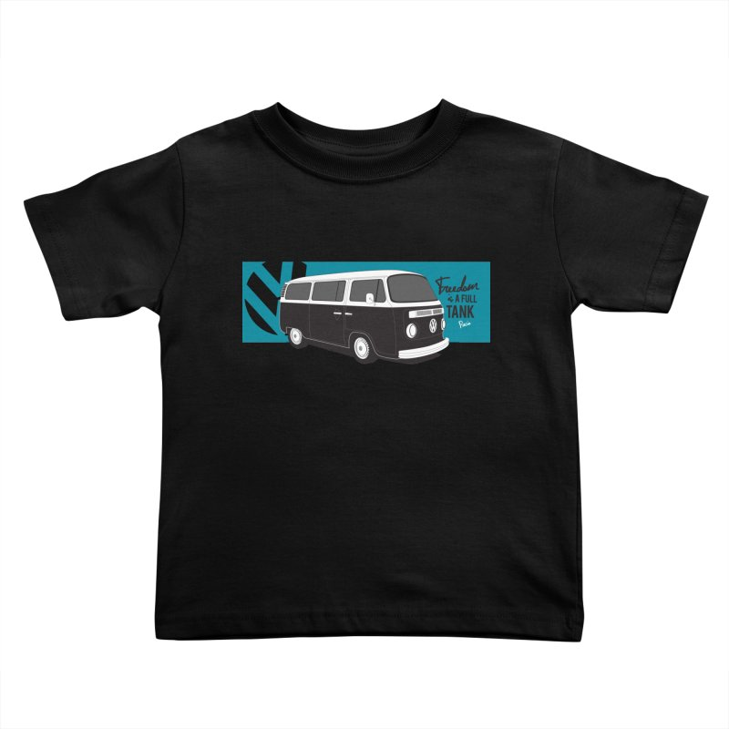 Freedom is a Full Tank Kids Toddler T-Shirt by Andrea Pacini