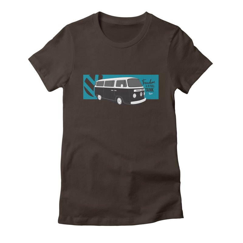 Freedom is a Full Tank Women's T-Shirt by Andrea Pacini