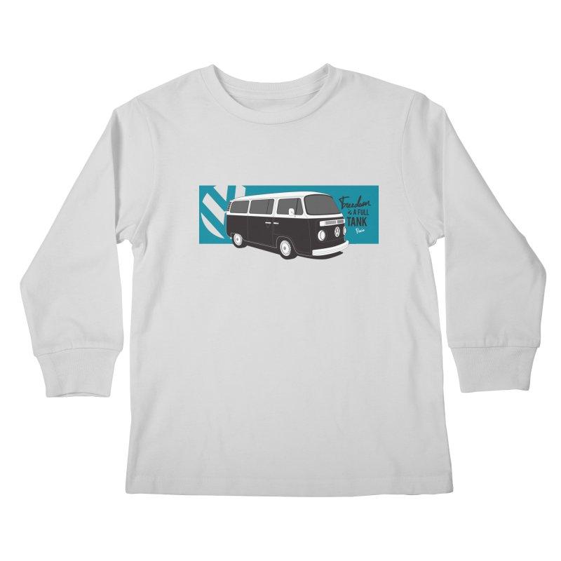 Freedom is a Full Tank Kids Longsleeve T-Shirt by Andrea Pacini
