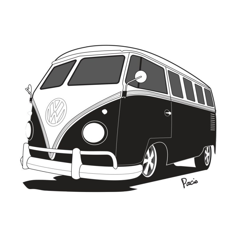 Samba Bus Home Fine Art Print by Andrea Pacini