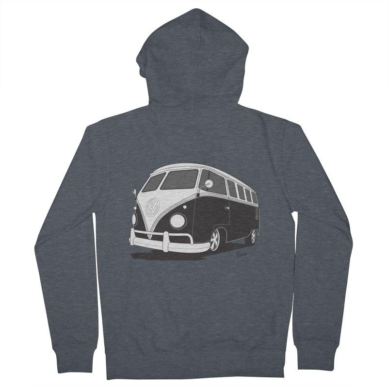 Samba Bus Men's Zip-Up Hoody by Andrea Pacini