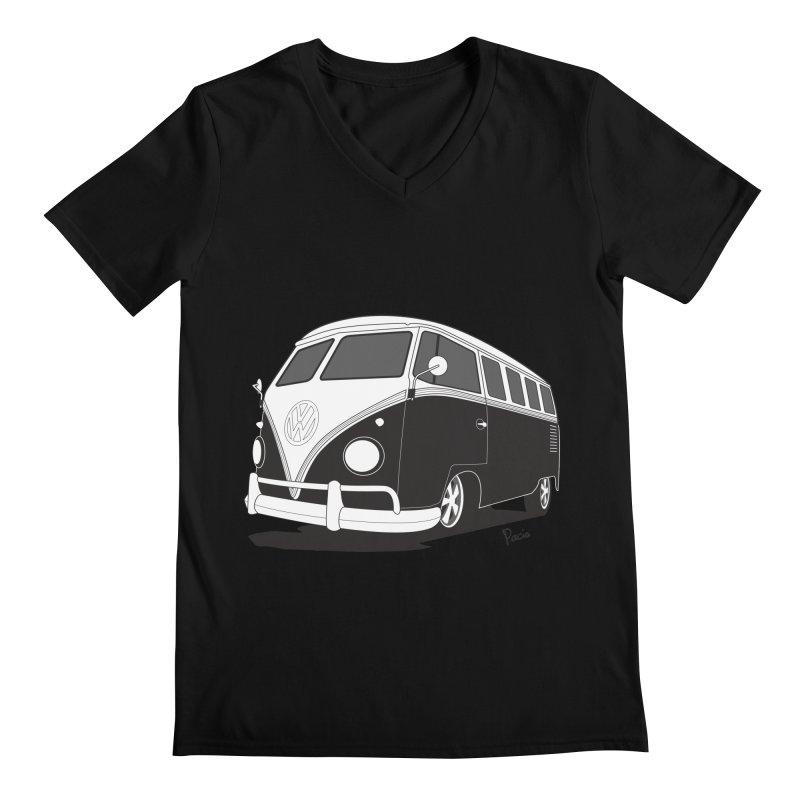 Samba Bus Men's V-Neck by Andrea Pacini
