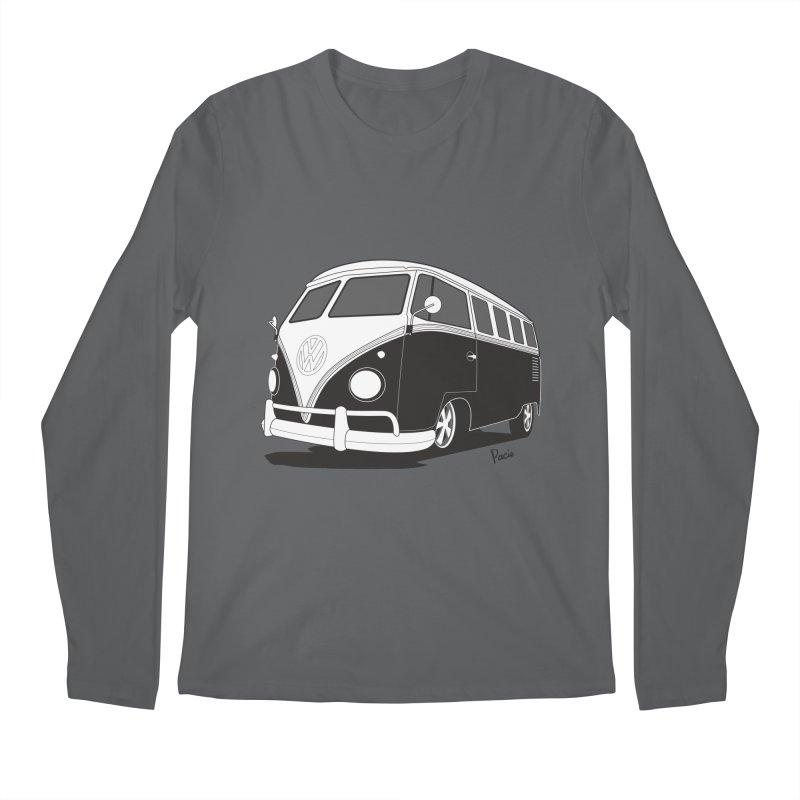Samba Bus Men's Regular Longsleeve T-Shirt by Andrea Pacini