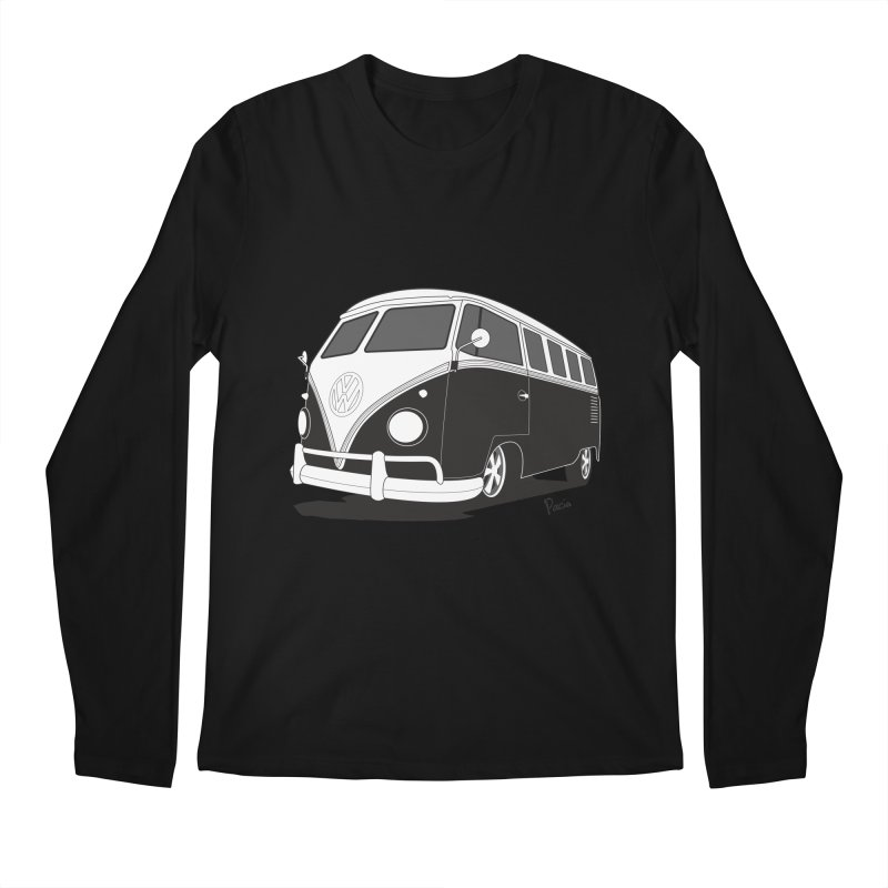 Samba Bus Men's Regular Longsleeve T-Shirt by Andrea Pacini