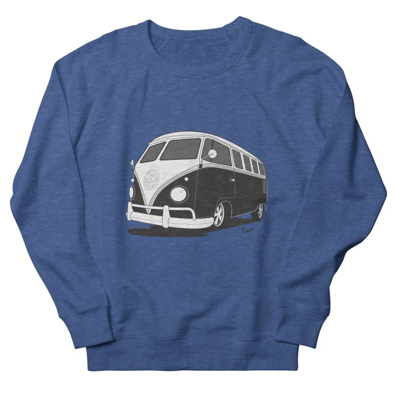Samba Bus Women's French Terry Sweatshirt by Andrea Pacini