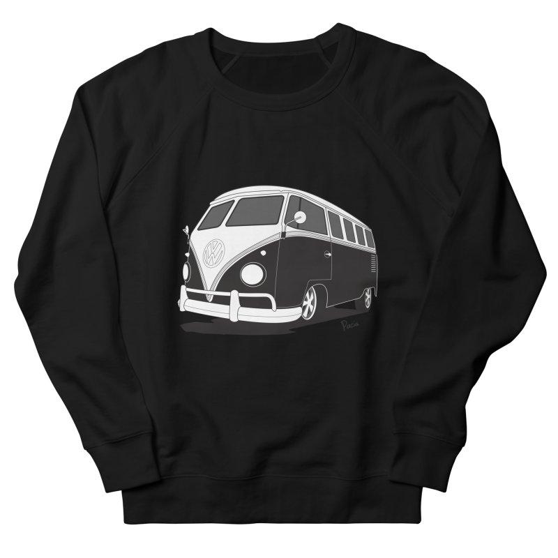 Samba Bus Women's French Terry Sweatshirt by Andrea Pacini