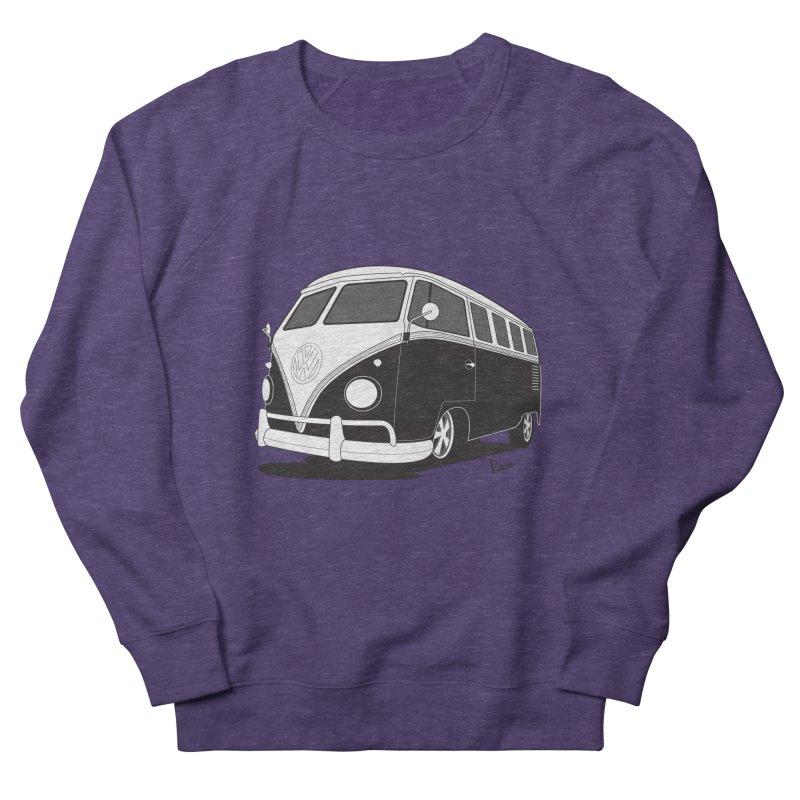 Samba Bus Men's French Terry Sweatshirt by Andrea Pacini