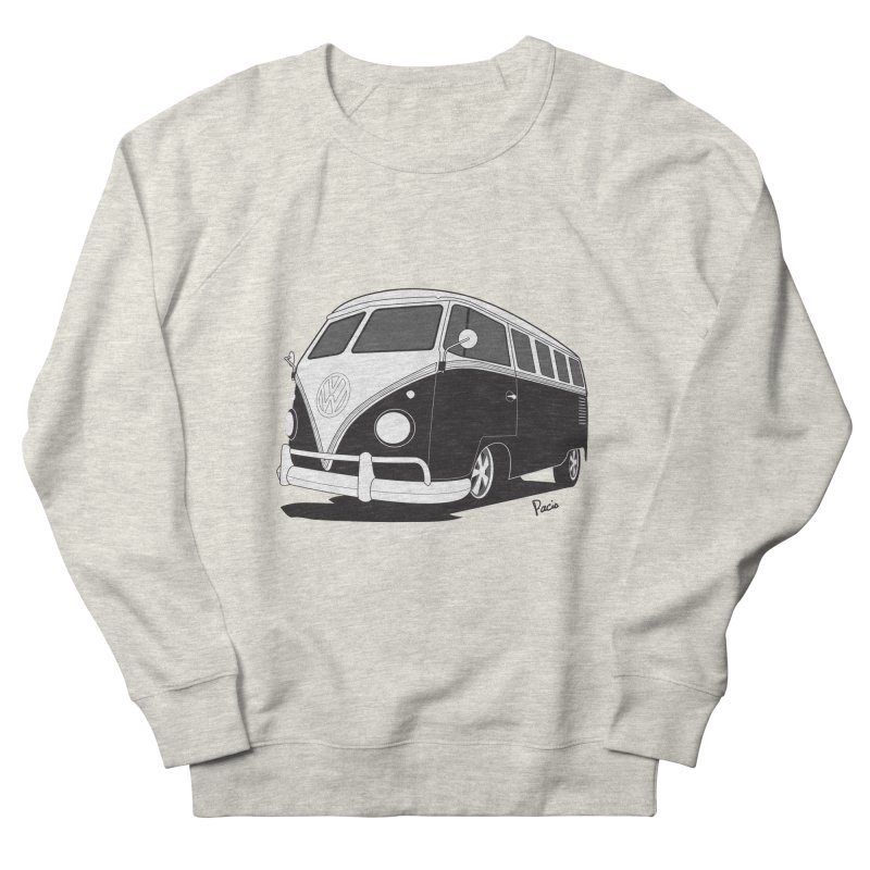Samba Bus Men's French Terry Sweatshirt by Andrea Pacini