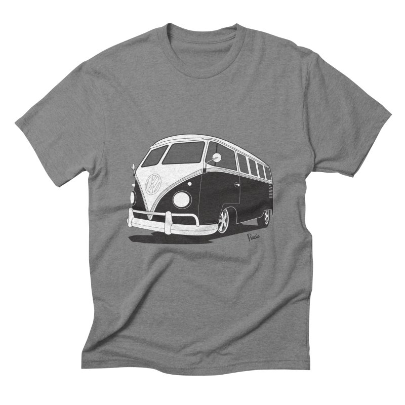Samba Bus Men's Triblend T-Shirt by Andrea Pacini