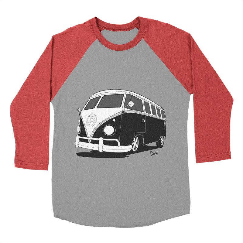 Samba Bus Men's Longsleeve T-Shirt by Andrea Pacini