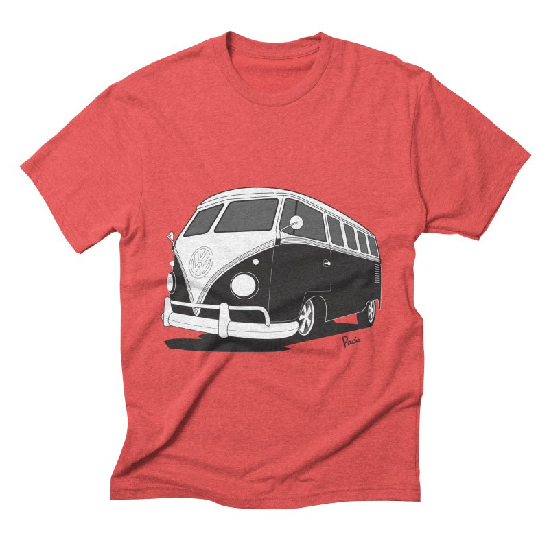 Samba Bus Men's Triblend T-shirt by Andrea Pacini