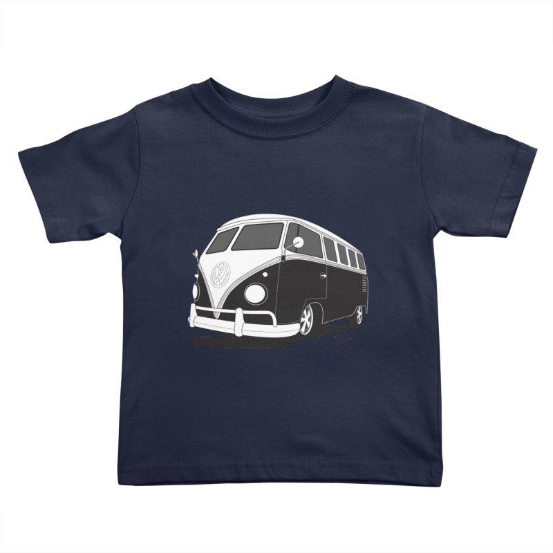 Samba Bus Kids Toddler T-Shirt by Andrea Pacini