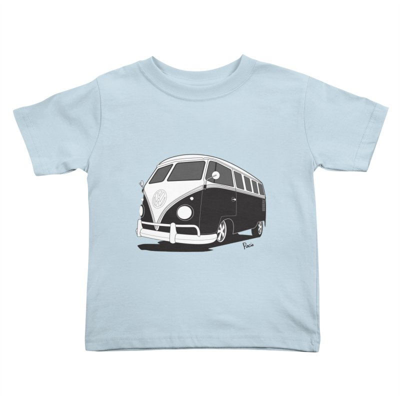 Samba Bus Kids Toddler T-Shirt by Andrea Pacini