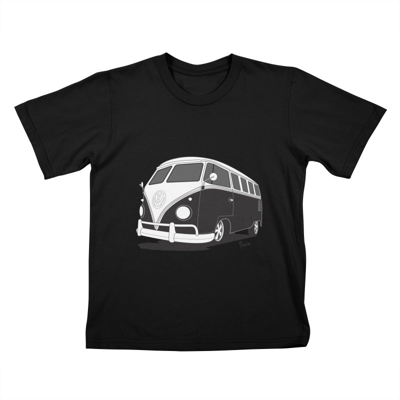 Samba Bus Kids T-Shirt by Andrea Pacini