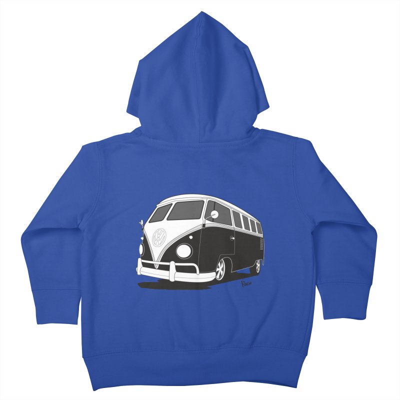 Samba Bus Kids Toddler Zip-Up Hoody by Andrea Pacini