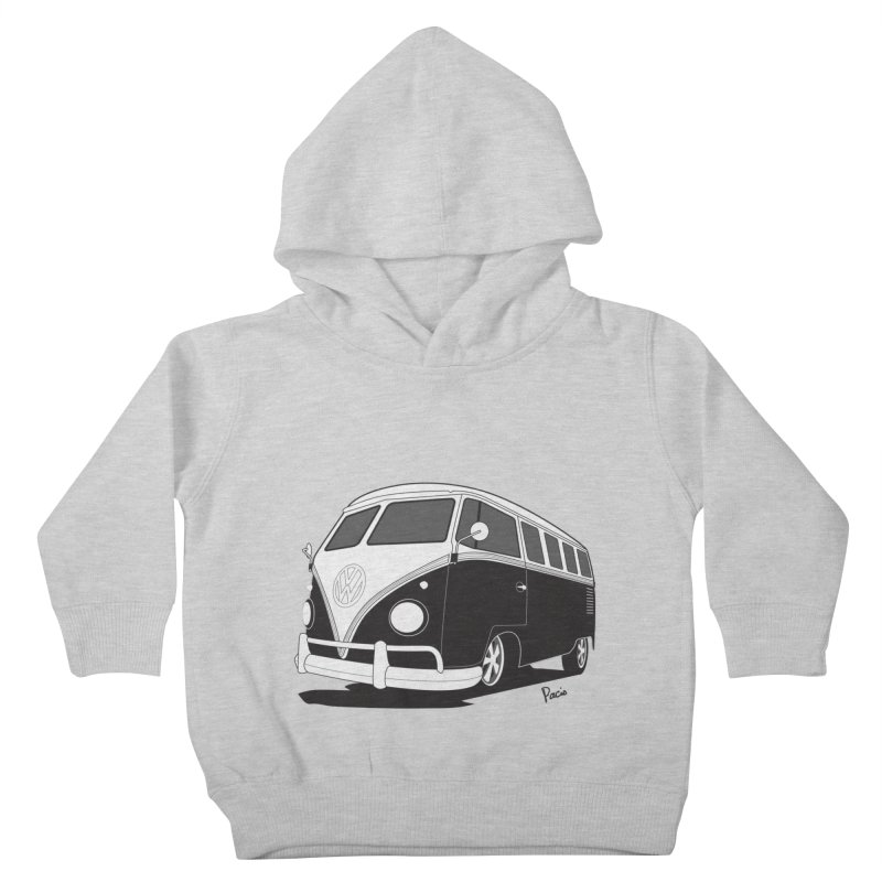 Samba Bus Kids Toddler Pullover Hoody by Andrea Pacini