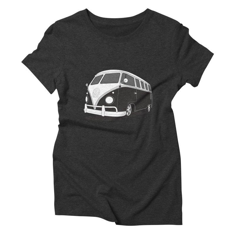 Samba Bus Women's Triblend T-Shirt by Andrea Pacini