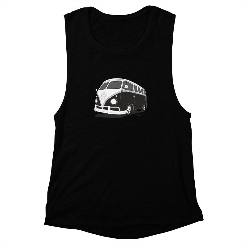 Samba Bus Women's Tank by Andrea Pacini