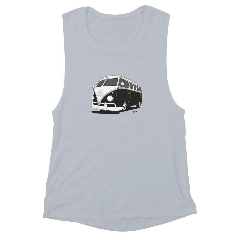 Samba Bus Women's Tank by Andrea Pacini