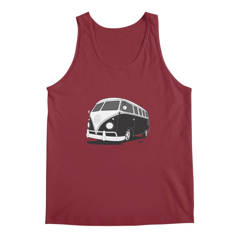 Samba Bus Men's Tank by Andrea Pacini