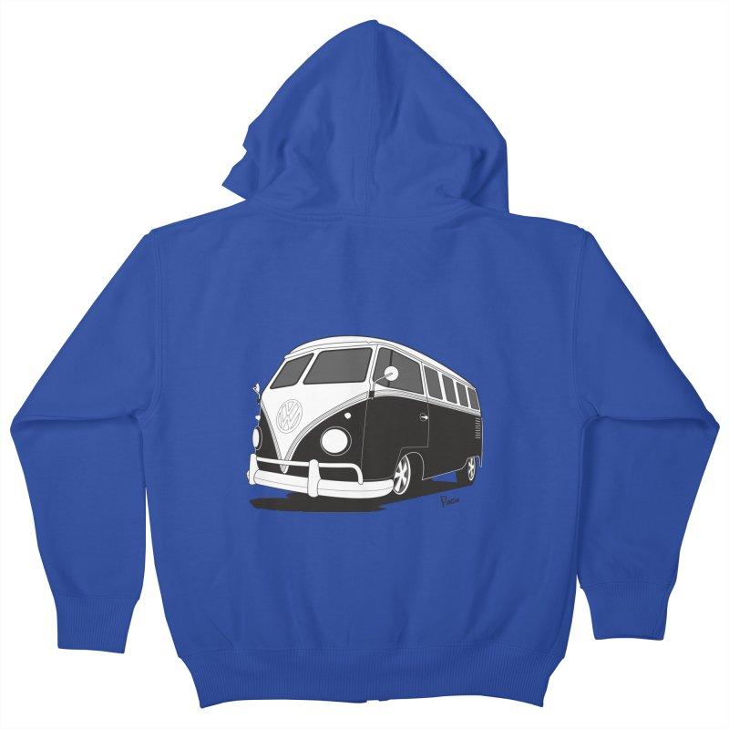 Samba Bus Kids Zip-Up Hoody by Andrea Pacini