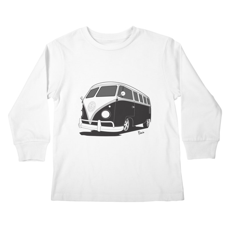 Samba Bus Kids Longsleeve T-Shirt by Andrea Pacini