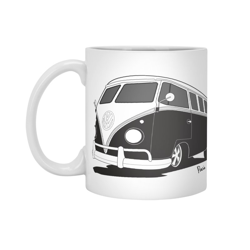 Samba Bus Accessories Standard Mug by Andrea Pacini
