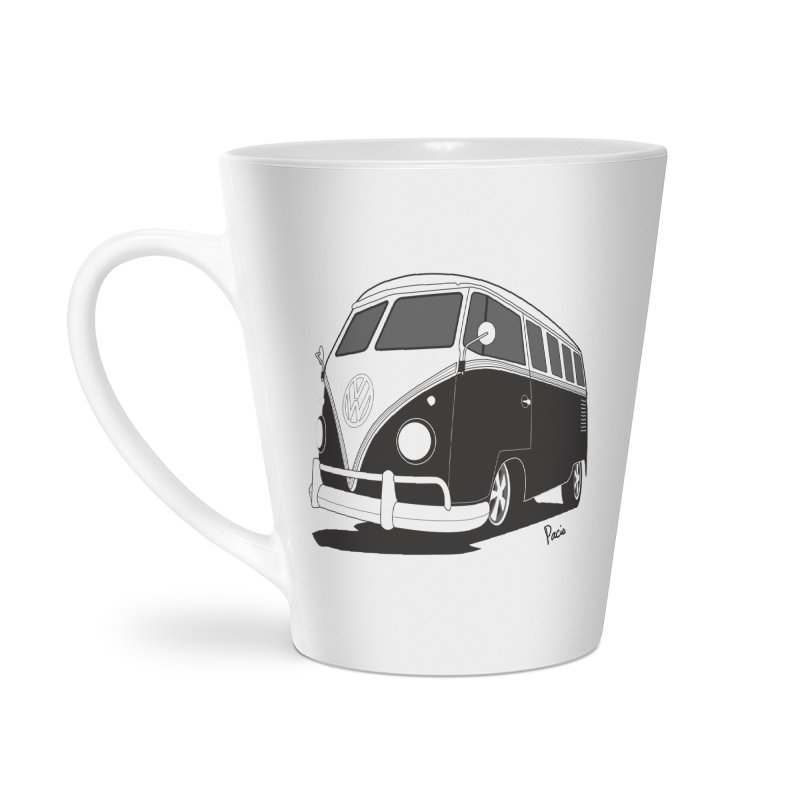 Samba Bus Accessories Latte Mug by Andrea Pacini