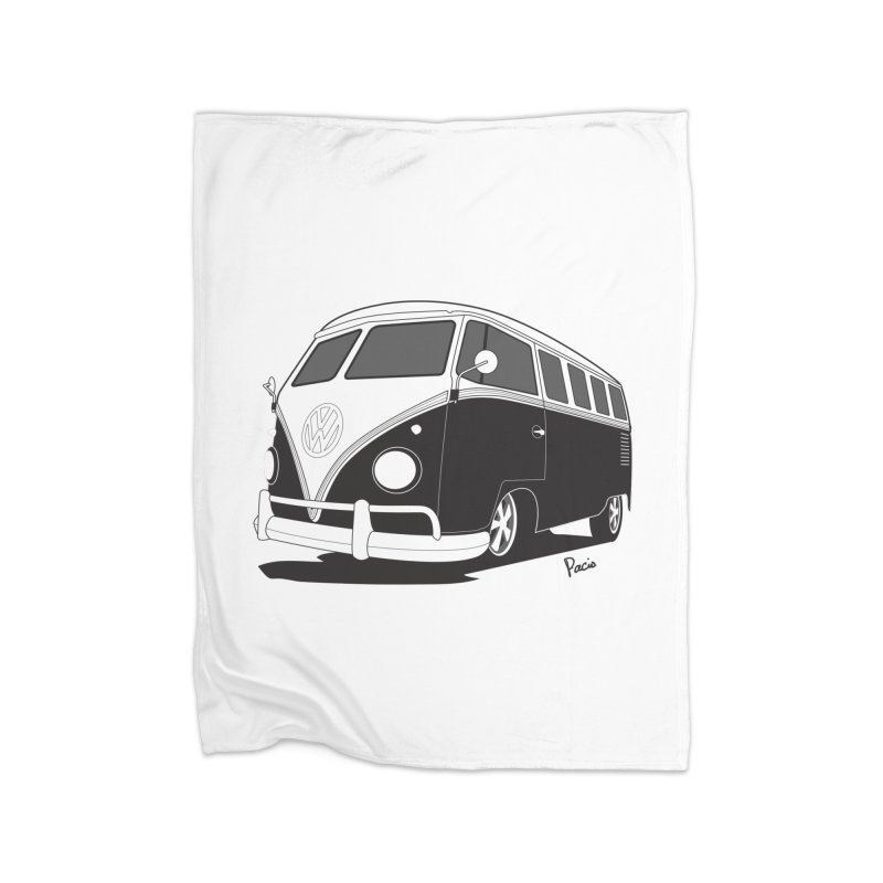Samba Bus Home Blanket by Andrea Pacini