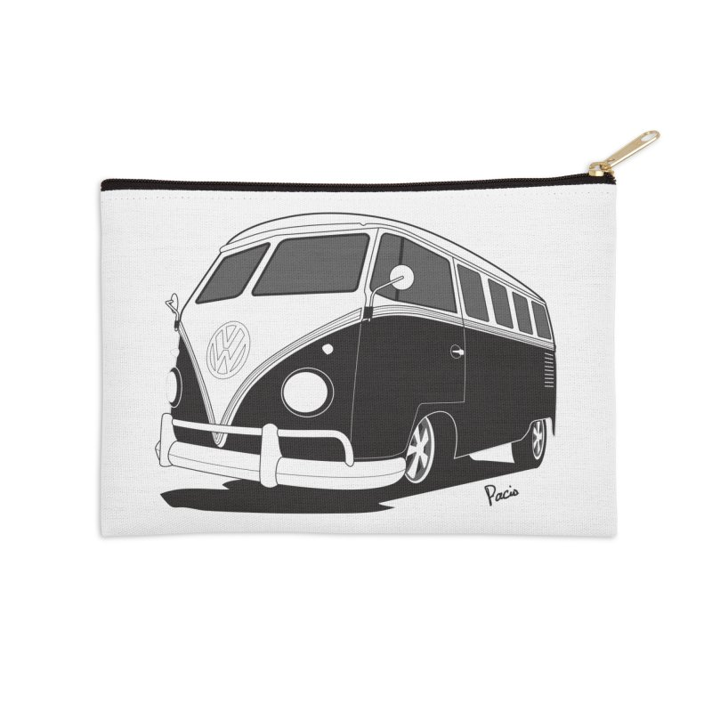 Samba Bus Accessories Zip Pouch by Andrea Pacini