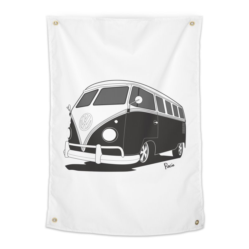 Samba Bus Home Tapestry by Andrea Pacini
