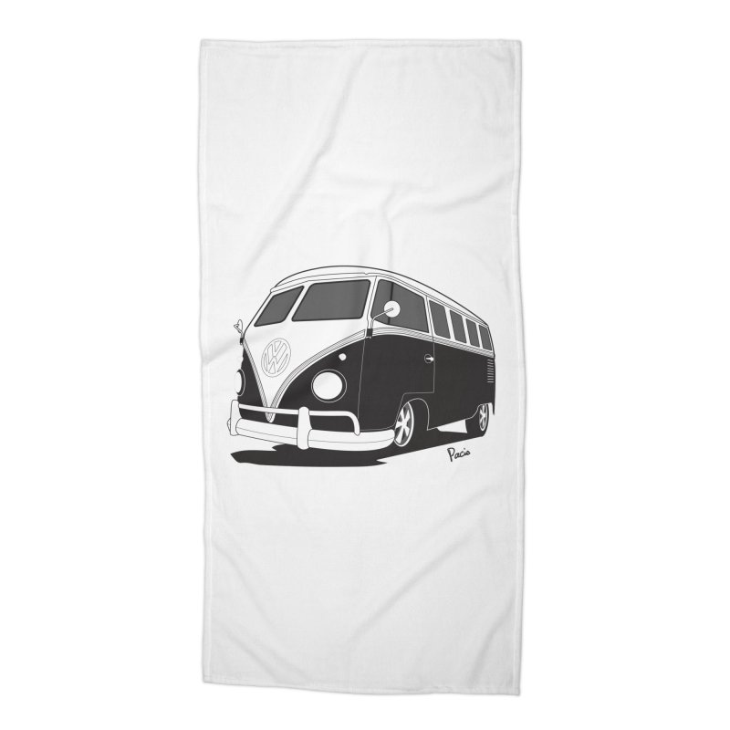 Samba Bus Accessories Beach Towel by Andrea Pacini