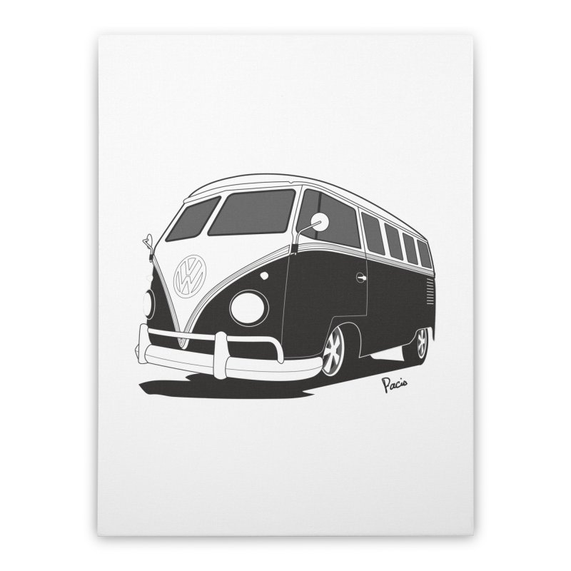 Samba Bus Home Stretched Canvas by Andrea Pacini