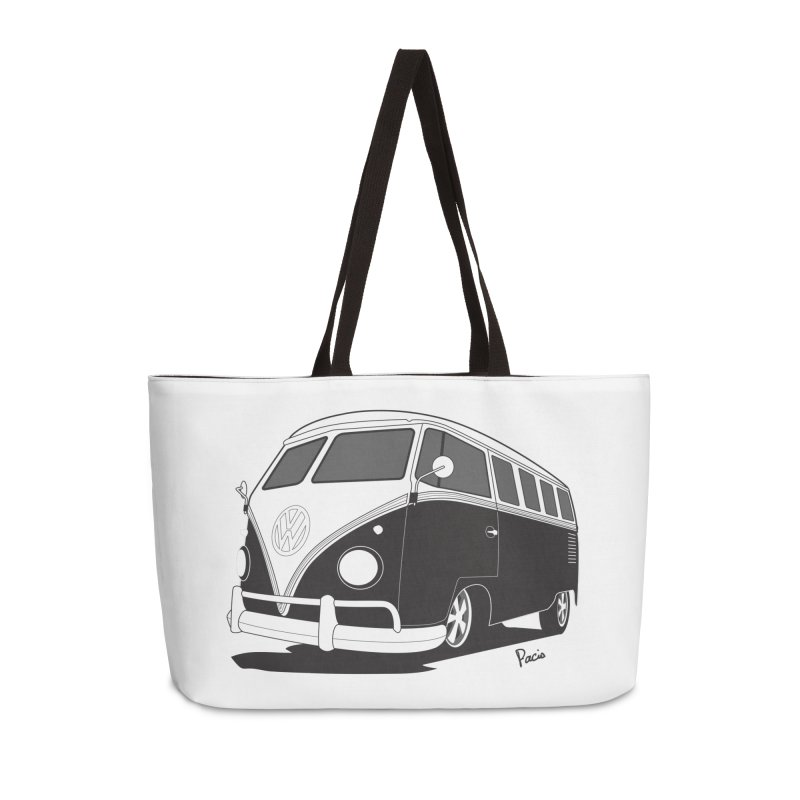 Samba Bus Accessories Weekender Bag Bag by Andrea Pacini