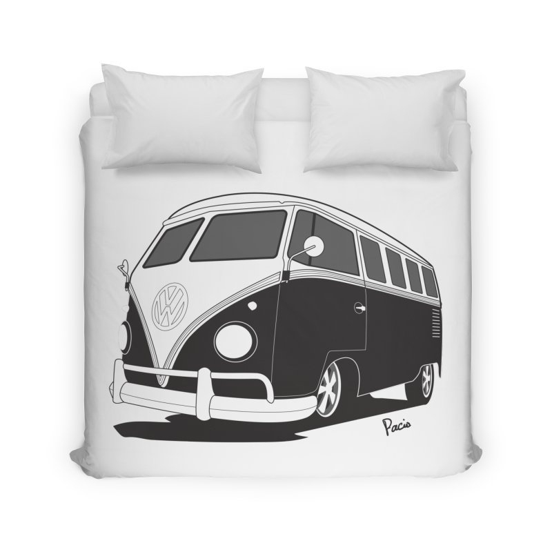 Samba Bus Home Duvet by Andrea Pacini