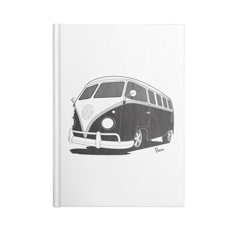 Samba Bus Accessories Blank Journal Notebook by Andrea Pacini