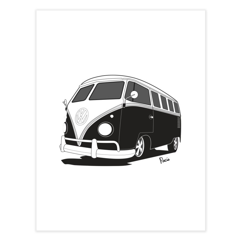 Samba Bus Home Fine Art Print by Andrea Pacini