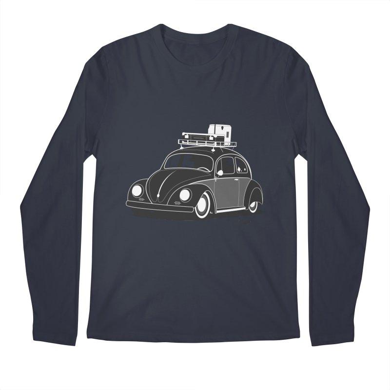 Aircooled Bug Men's Longsleeve T-Shirt by Andrea Pacini
