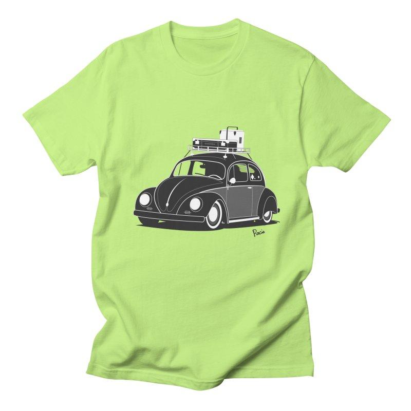 Aircooled Bug Men's T-Shirt by Andrea Pacini