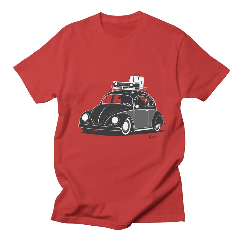 Aircooled Bug Men's T-Shirt by Andrea Pacini
