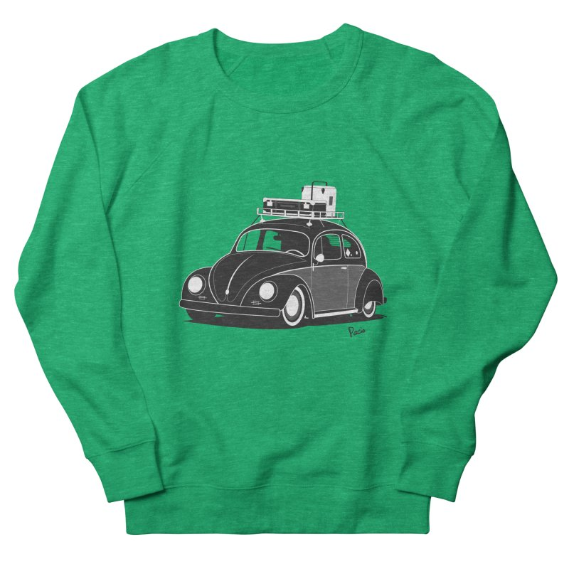 Aircooled Bug Women's Sweatshirt by Andrea Pacini