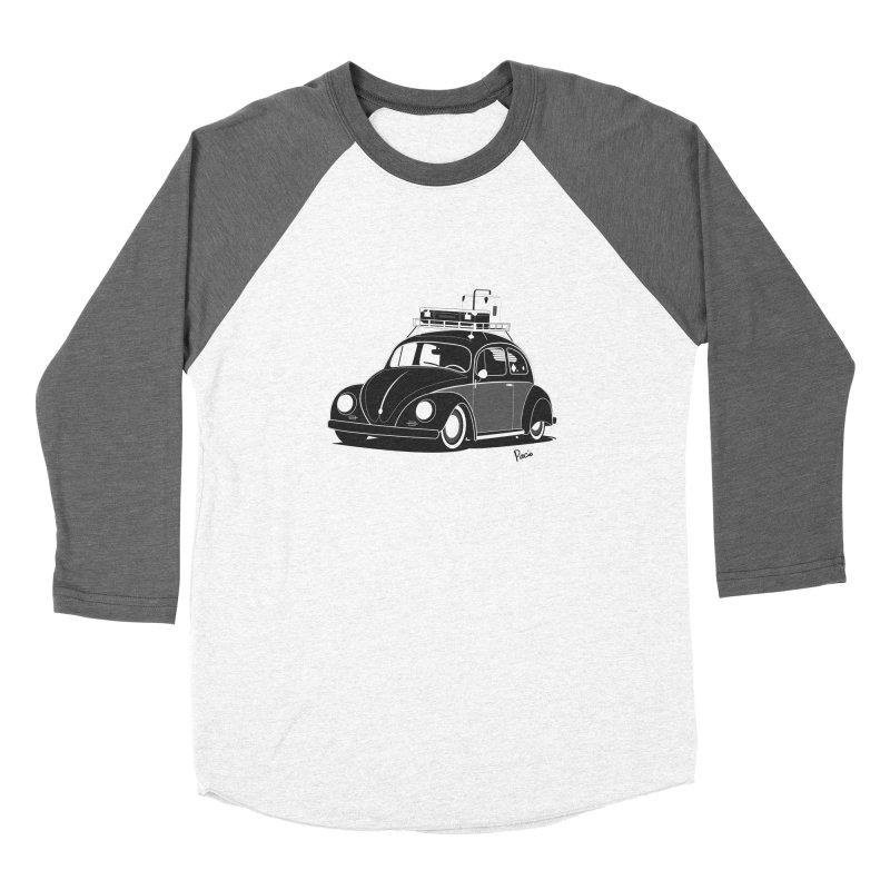 Aircooled Bug Women's Longsleeve T-Shirt by Andrea Pacini