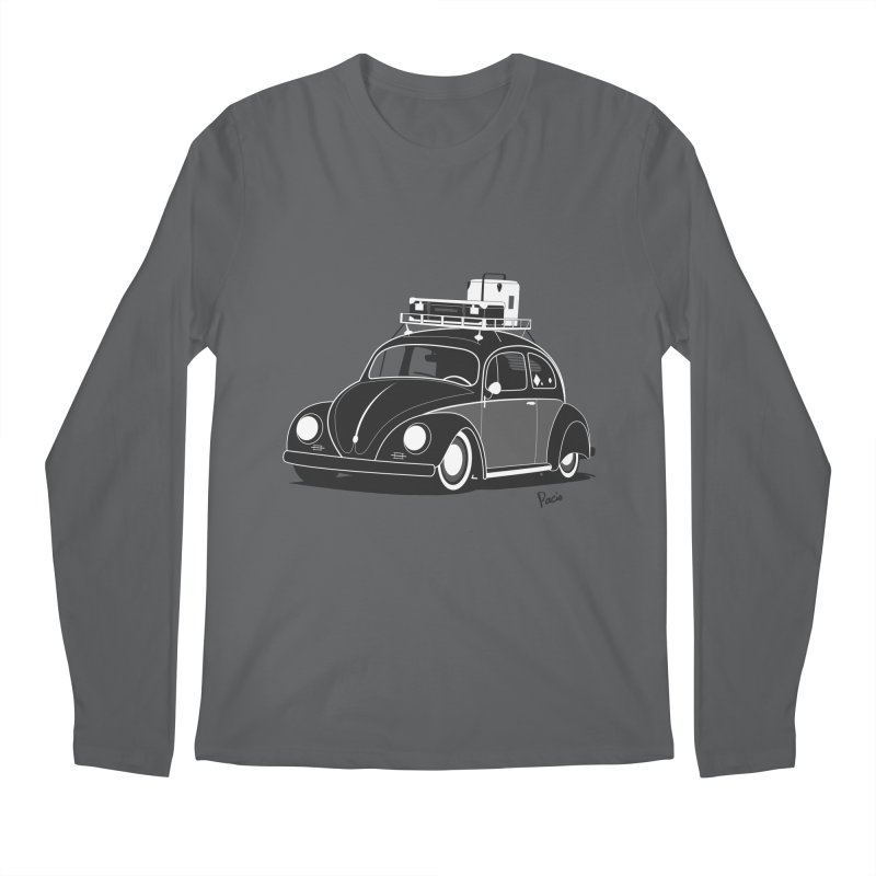 Aircooled Bug Men's Regular Longsleeve T-Shirt by Andrea Pacini
