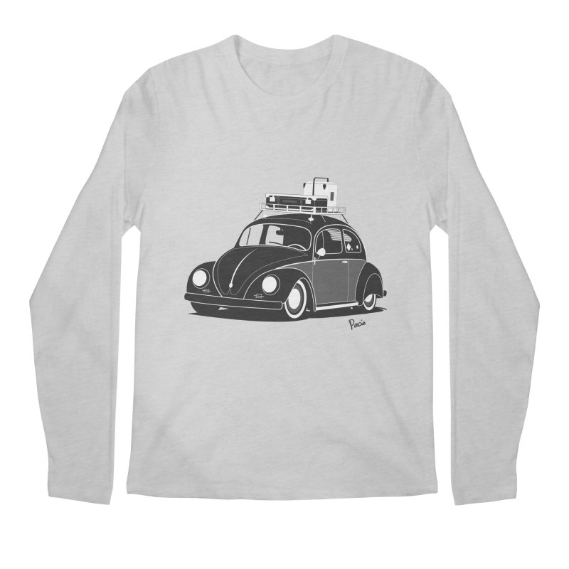 Aircooled Bug Men's Regular Longsleeve T-Shirt by Andrea Pacini