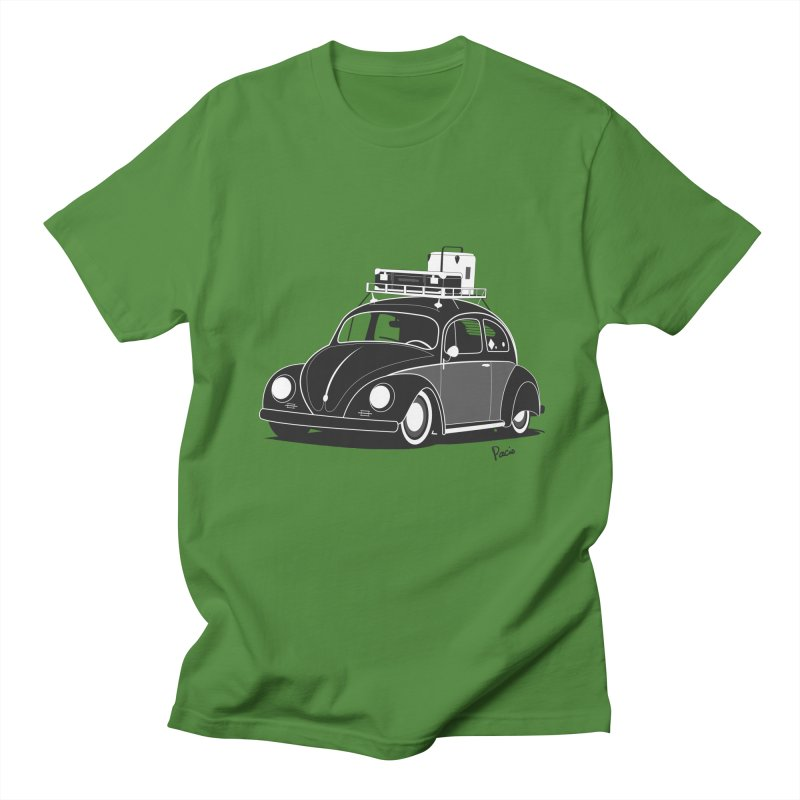 Aircooled Bug Women's Unisex T-Shirt by Andrea Pacini