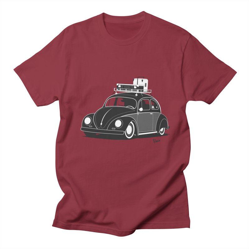 Aircooled Bug Women's Regular Unisex T-Shirt by Andrea Pacini