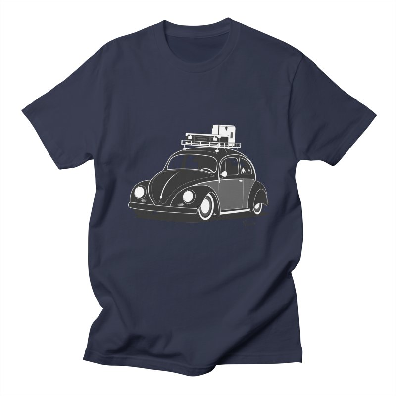 Aircooled Bug Men's Regular T-Shirt by Andrea Pacini