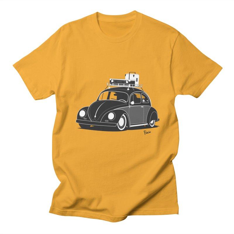 Aircooled Bug Men's Regular T-Shirt by Andrea Pacini