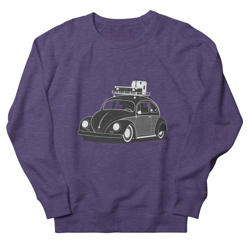 Aircooled Bug Women's French Terry Sweatshirt by Andrea Pacini